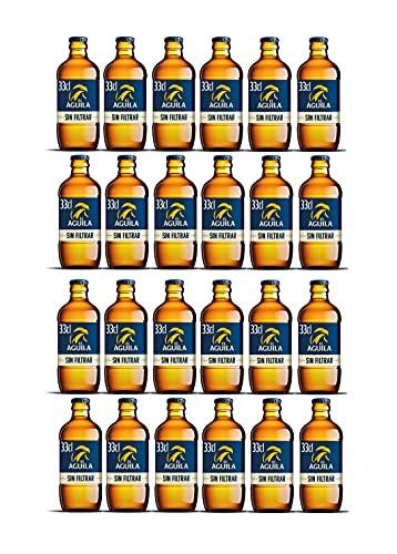 Marca: AGUILA Aguila cerveza especial sin filtrar pack 24 botellas 33cl - 7920 ml