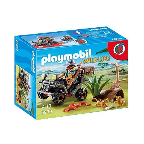 Playmobil -Vida Salvaje Explorador con Quad