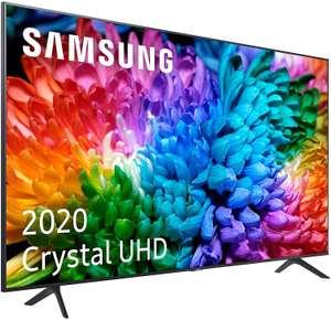 """TV 65"""" Samsung Crystal UHD 65TU7125, Smart TV, 4K Real y HDR10+ // 55"""" por 445€"""