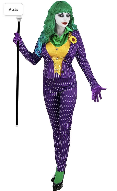 Disfraz de joker !porque también somos frikis !
