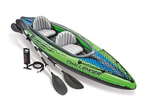 Intex 68306NP - Kayak hinchable Challenger K2 con 2 remos
