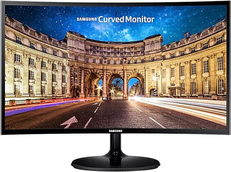 """Monitor gaming - Samsung C27F390, 27"""" FHD, Curvo, 4 ms, 60 Hz, 1800R, FreeSync, Flicker Free, HDMI, Negro"""