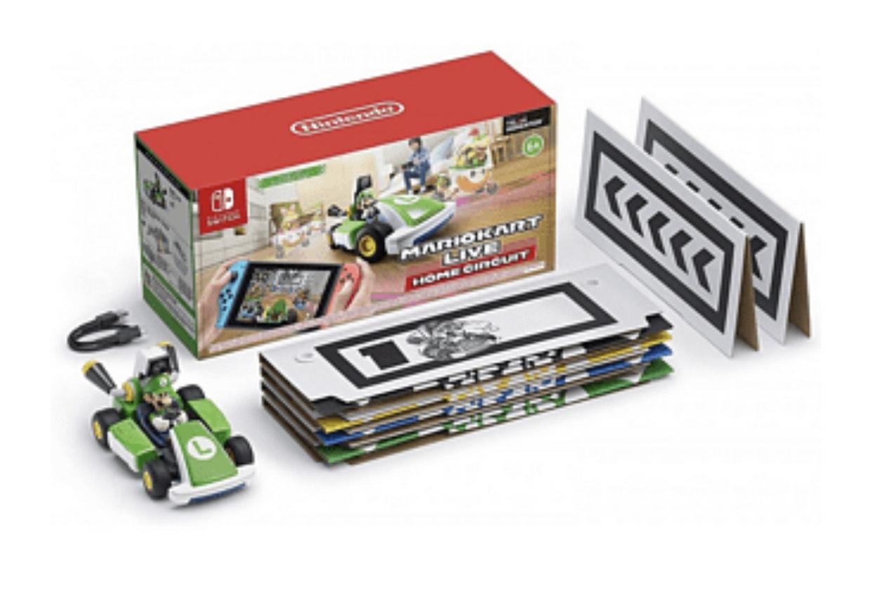 Nintendo Switch Mario Kart Live- Luigi
