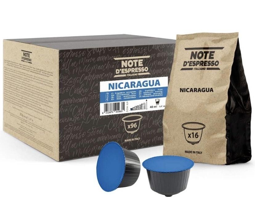 Note d'Espresso Italiano - 96 Cápsulas de café de Nicaragua