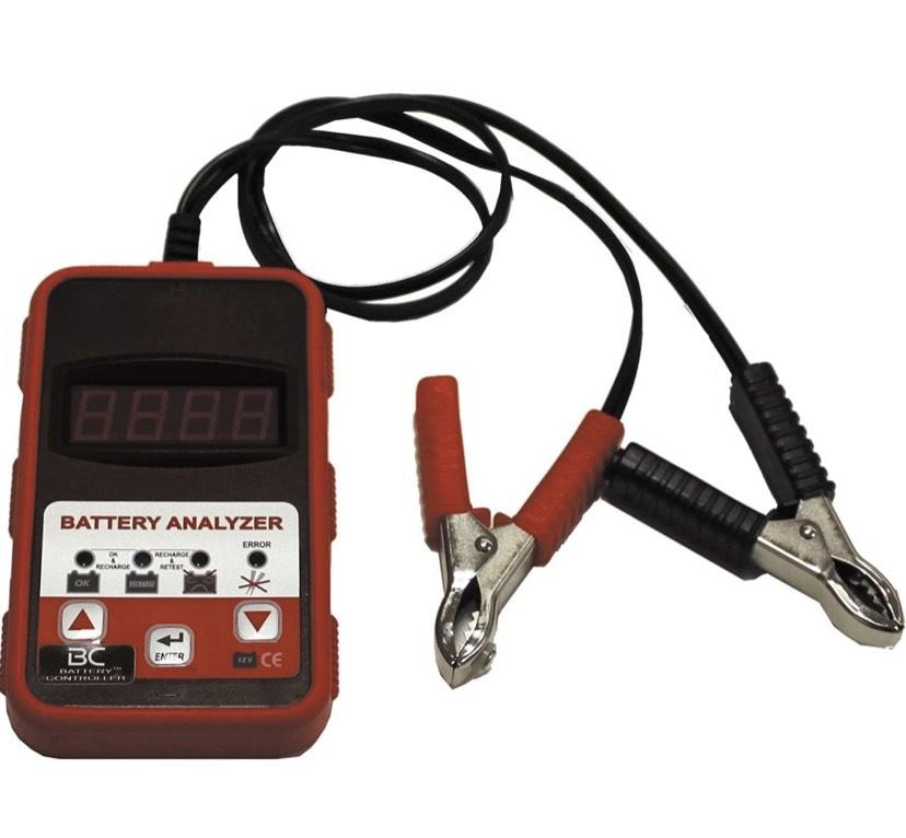 BC Battery Controller BT-01 - Comprobador/Tester para baterías de 12V - 200-1200 CCA