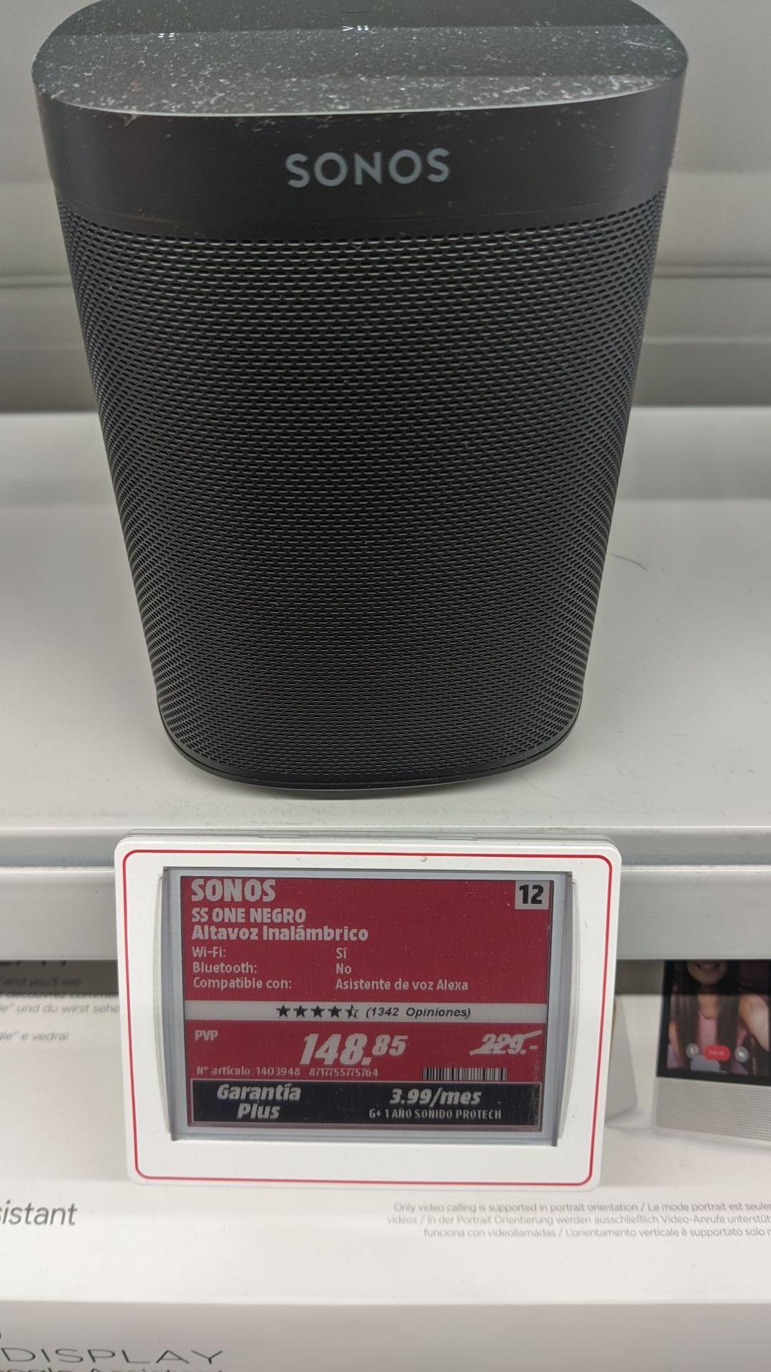 Sonos One 2a Gen a precio de derribo!!
