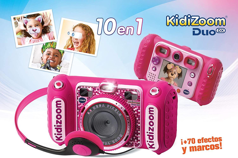 VTech- Kidizoom Duo DX Cámara Digital Para Niños en rosa o azul.