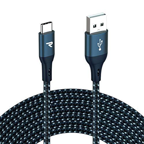 (MÍNIMO HISTÓRICO) RAMPOW Cable USB Tipo C 3A Carga Rápida 3 METROS