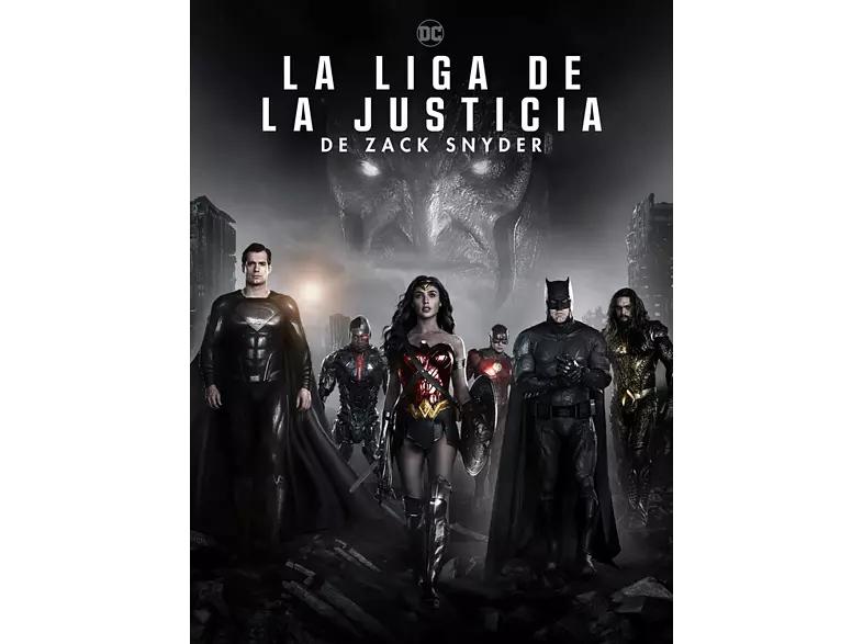 La Liga de la Justicia de Zack Snyder (Ed. Steelbook) - 4K Ultra HD