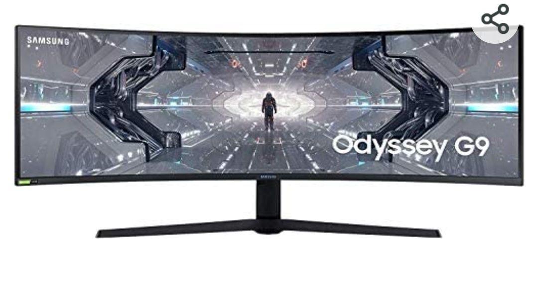 Samsung LC49G93TSSRXEN - Monitor Curvo de Odyssey G9 49'' DQHD, 5120 x 1440p, 1 ms, 240 Hz