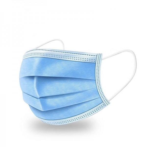 100 Mascarilla desechable de 3 capas azul NS24-10 - Garantía El Corte Ingles