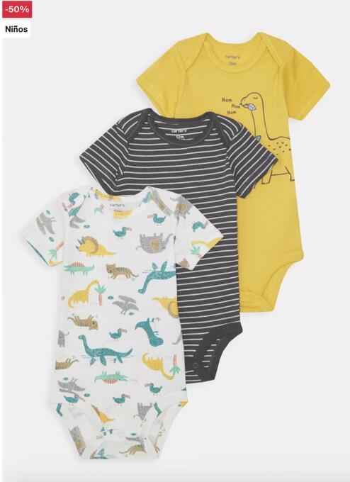 Hasta -50% en ropa para bebé