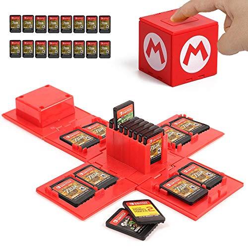Caja organizador para juegos Nintendo Switch ( Varios Modelos )
