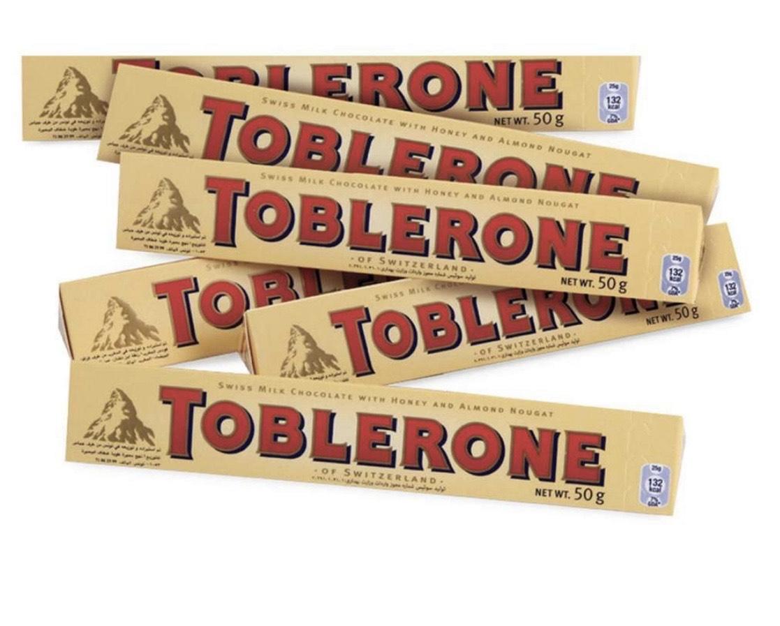Toblerone Oro /Dark 6 x 100gr