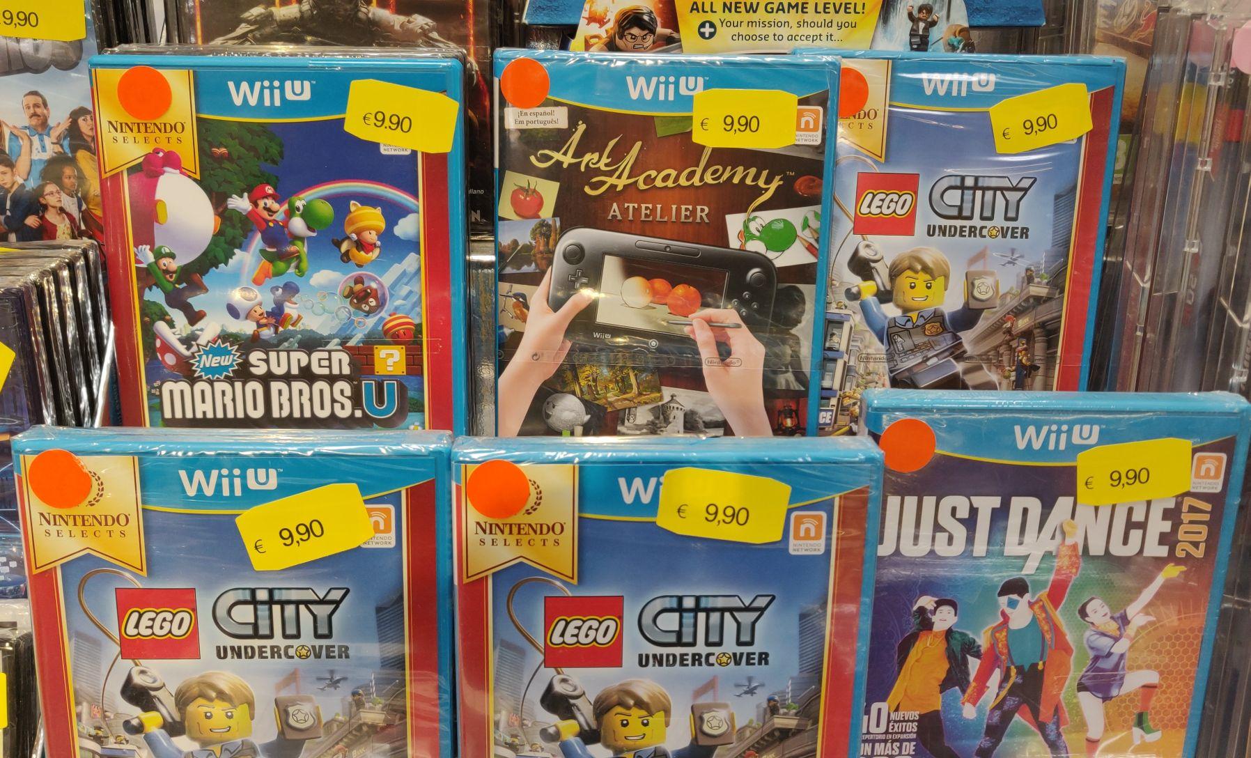 ¡Más juegos precintados de Wii U por 9.90€! (Eroski Bilbondo)