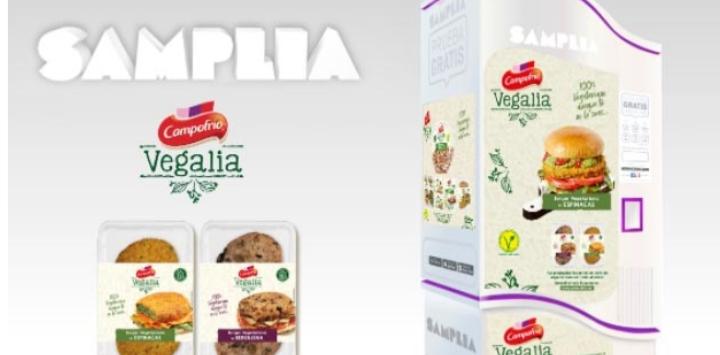 Prueba Gratis las Burger Vegalia de Campofrio (Samplia)
