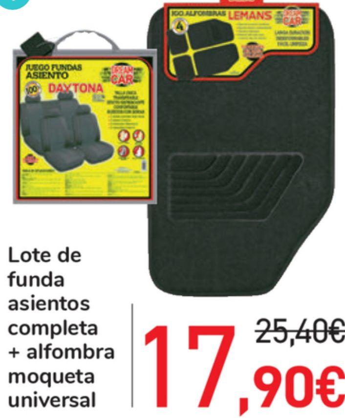 Lote Alfombra + Funda de coche