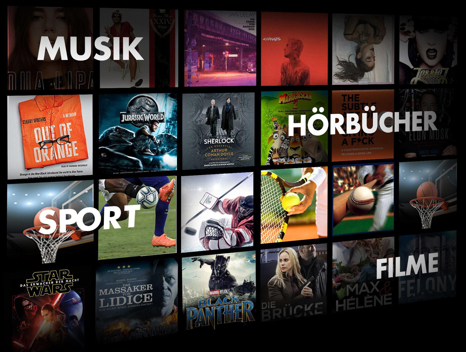 1 mes gratis de CLIQ (streaming todo en uno: juegos [Utomik], música, películas, audiolibros y deportes)