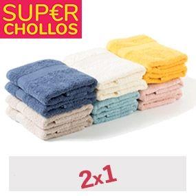 2x1 en esta marca de toallas