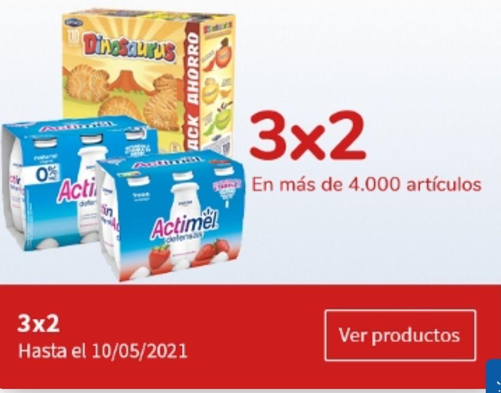3x2 en más de 3800 productos