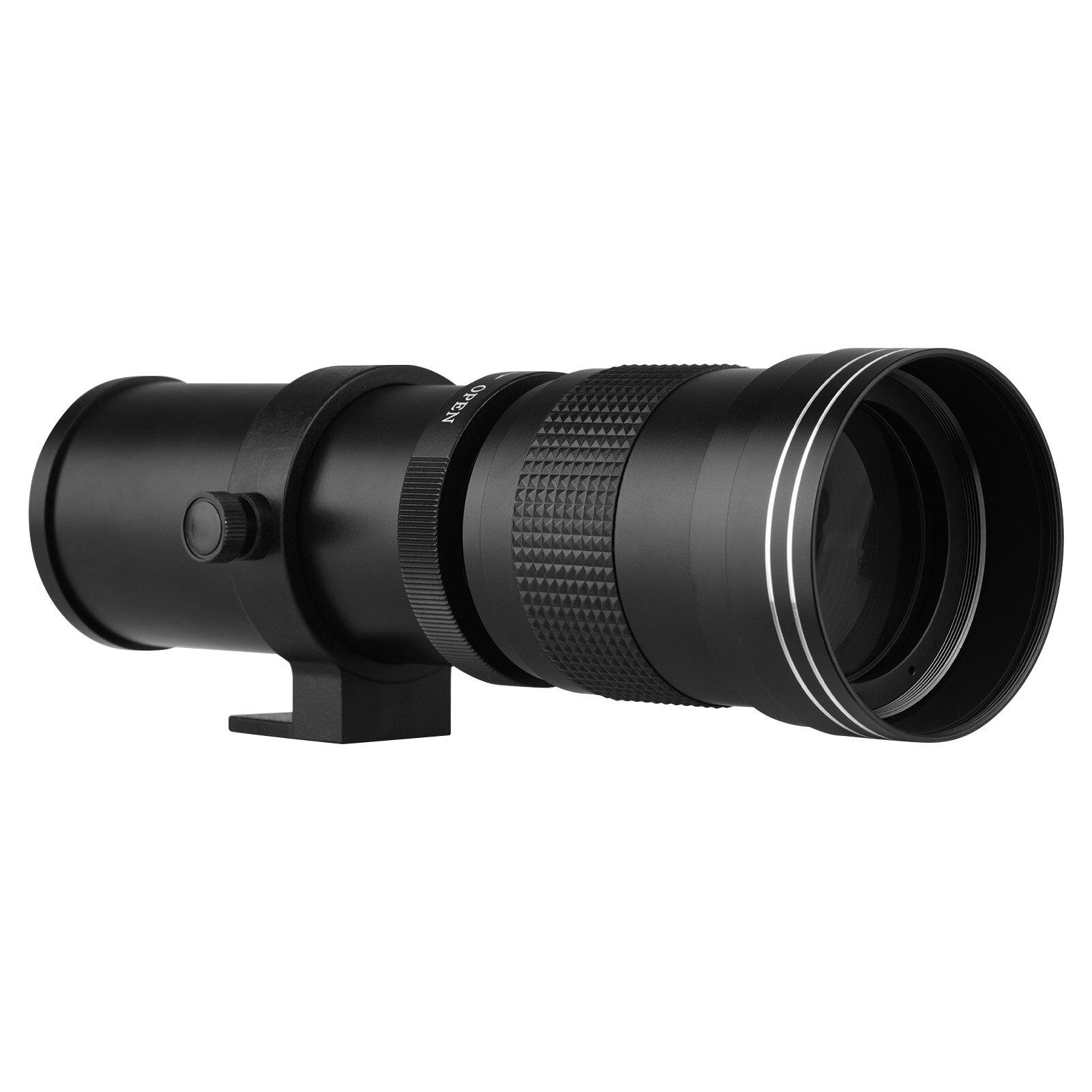 Teleobjetivo 420-800mm F/8,3-16 a precio de risa