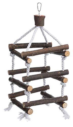 Escalera Torre trixie para aves