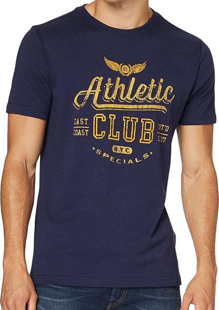 Camiseta talla S/M Izod Athletic Club Flock tee