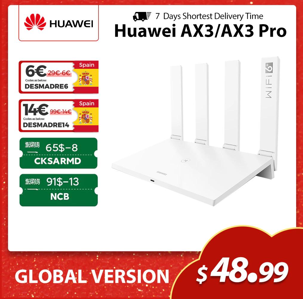 Huawei Ax3 WIFI 6 +3000Mbps