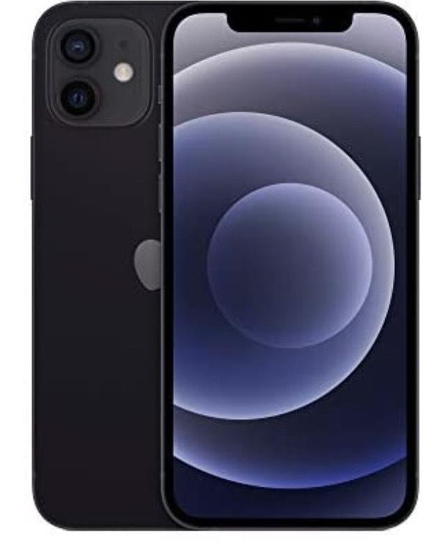Apple Iphone 12 (64gb) negro en Amazon