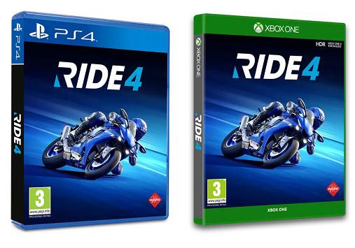 PS4/Xbox One: Ride 4 (juego físico) por sólo 14,99€