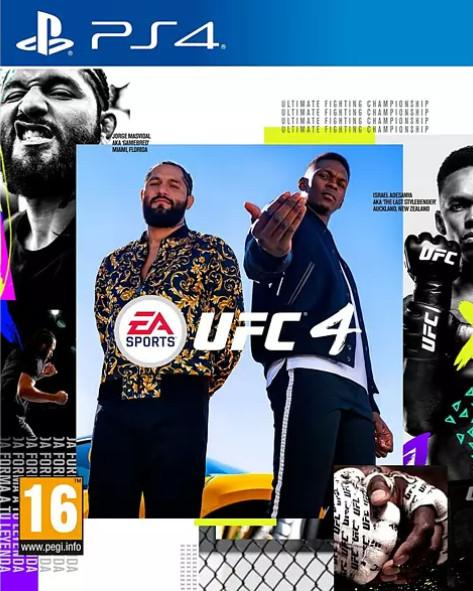 PS4: UFC 4 (juego físico) sólo 14,99€