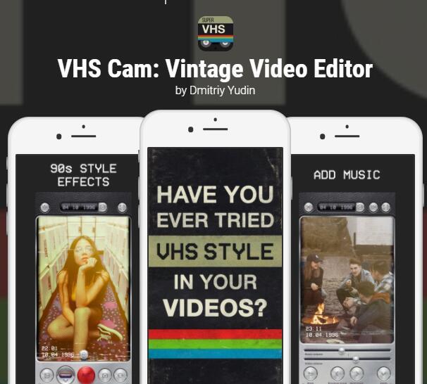 VHS Cam, Jumpy Wheels, Kintsugi y otras Apps GRATIS [IOS]