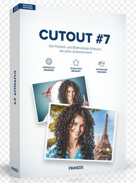 FRANZIS CutOut 7 Standard o CutOut 5 Pro [Licencia de por vida]