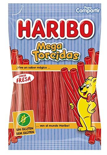 Haribo Mega Torcidas Fresa Sin Gluten 175 g