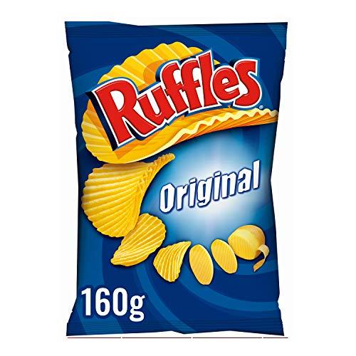Ruffles Original Patatas Fritas con Sal, 160g por sólo 0,96€ y Cheetos Rizos 100g por 0,94€