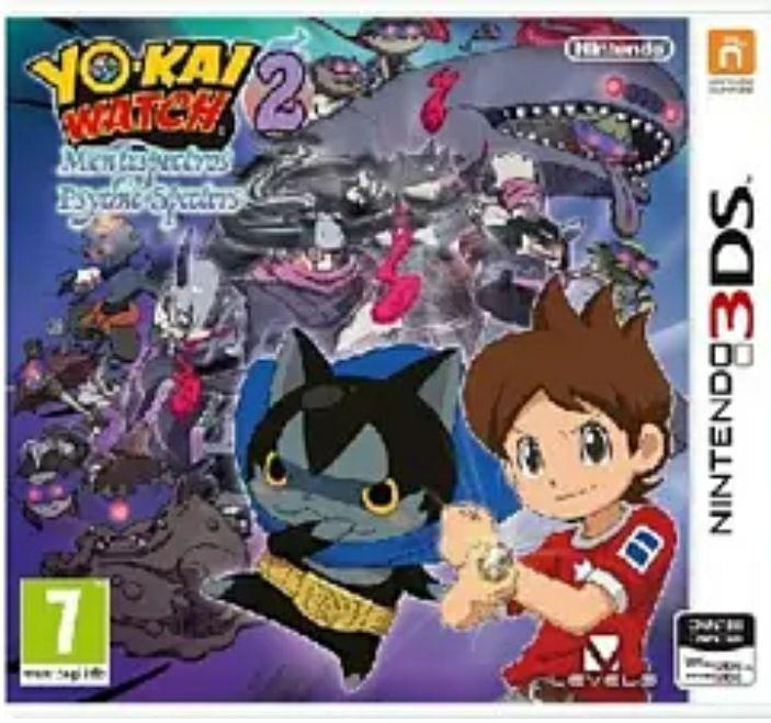 Nintendo 3DS Yo-Kai Watch 2: Mentespectros