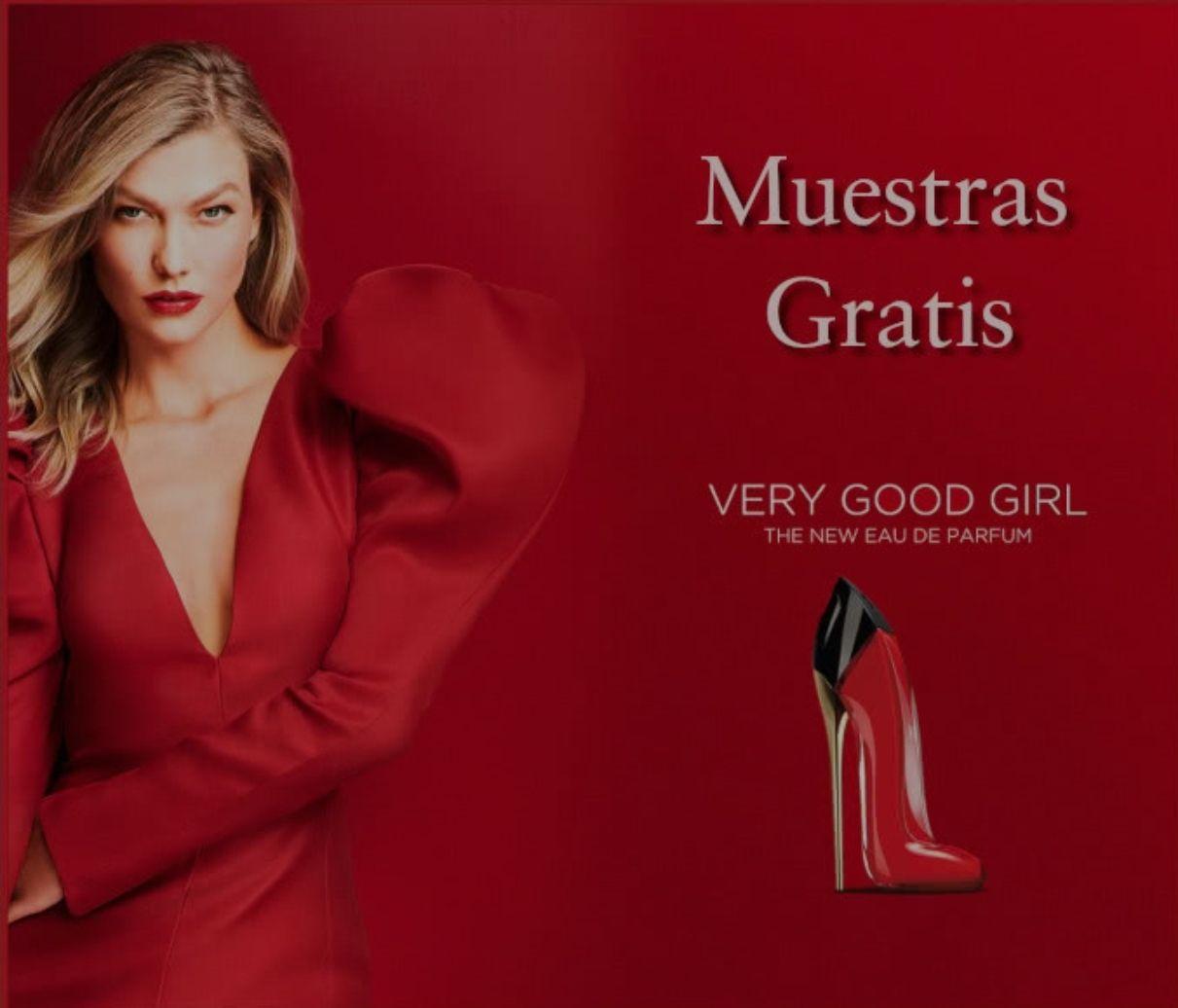 Muestras gratis perfume VERY GOOD GIRL #Carolina Herrera#
