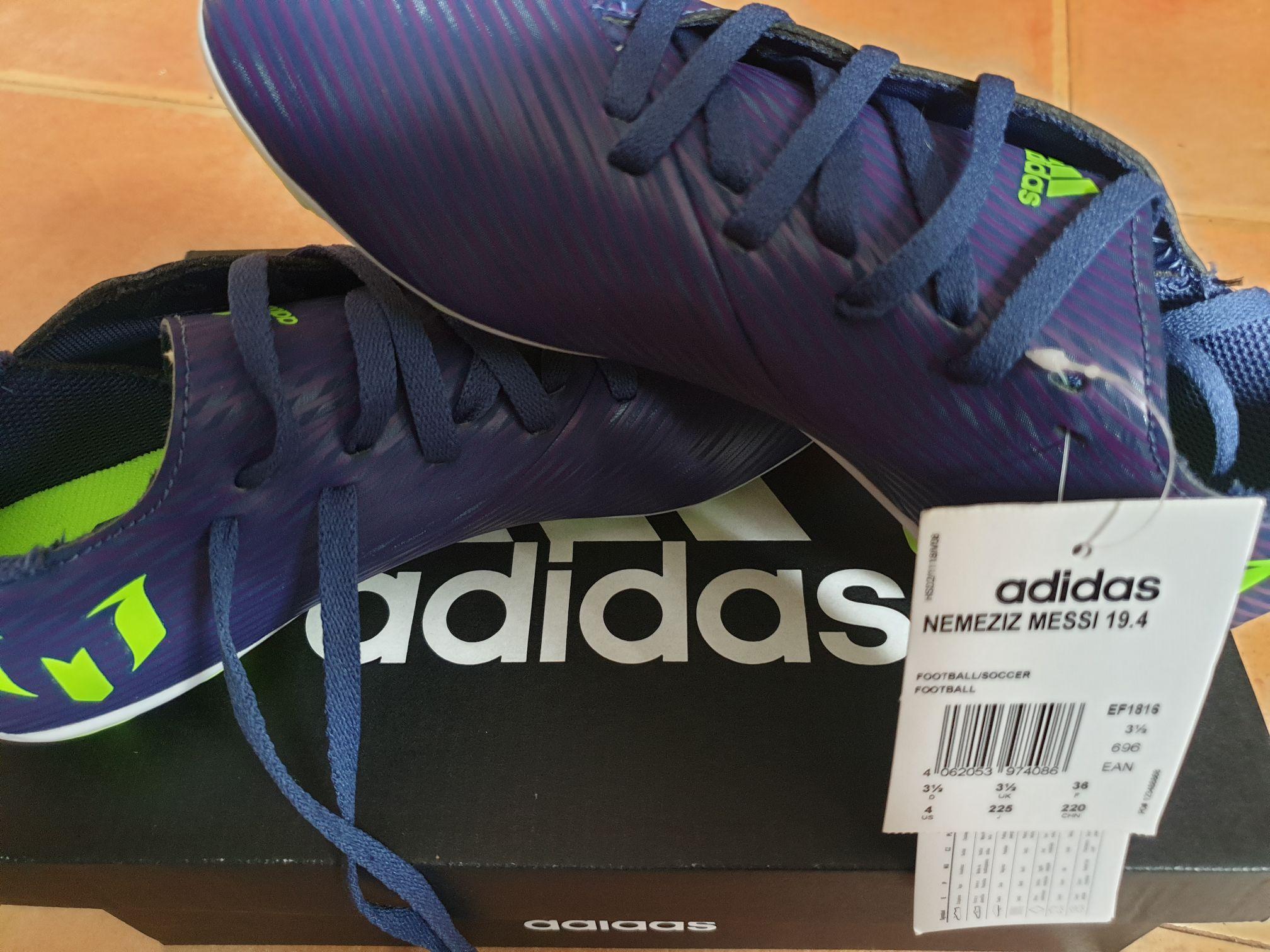 Botas fútbol Nemeziz Messi varias tallas tienda outlet
