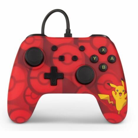 Mando con Cable Pikachu para Nintendo Switch