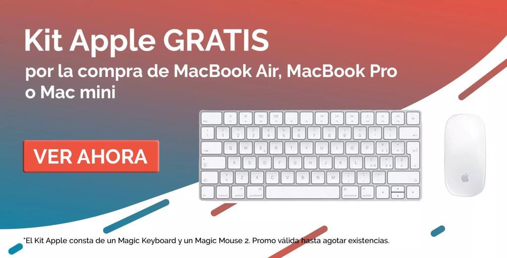 Magic keyboard + Magic Mouse 2 de regalo al comprar un Mac Mini, MacBook Air o MacBook Pro