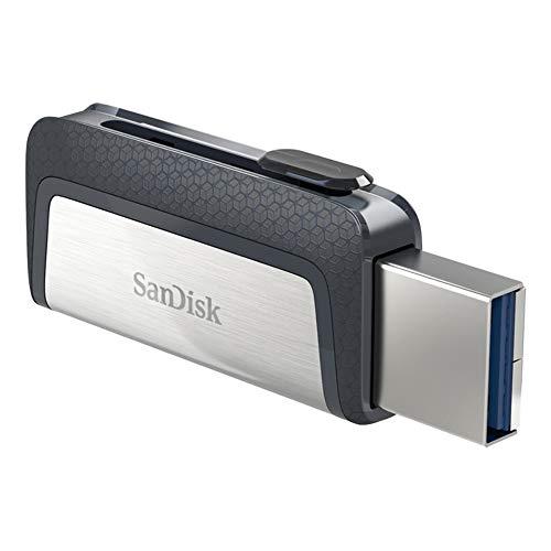 SanDisk Menoria Flash USB 256 GB - Ultra Dual DriveType-C