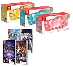 Nintendo Switch Lite + juego Sega a elegir