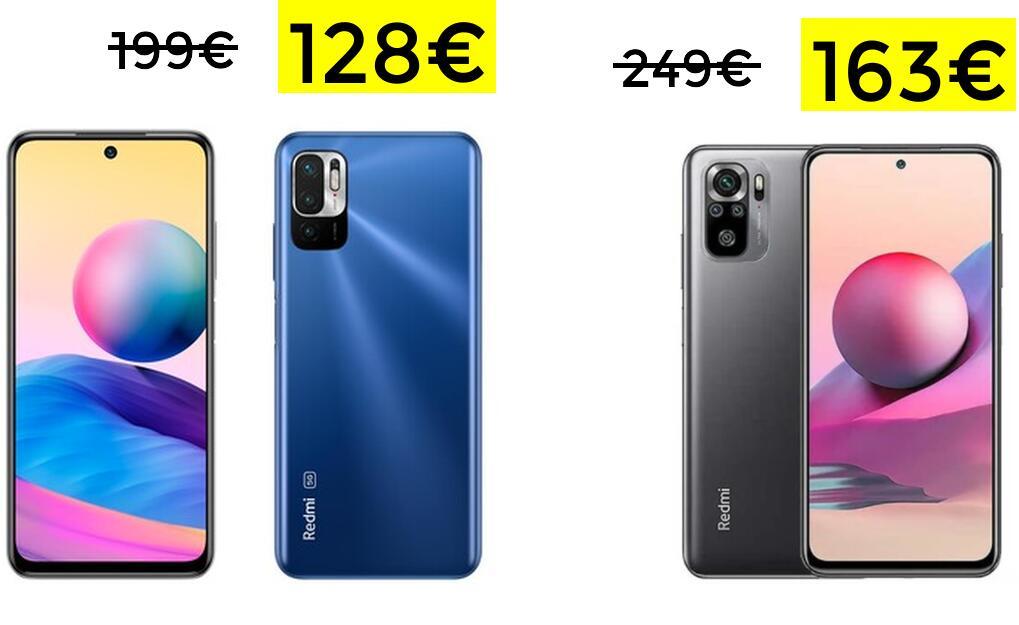 Lanzamiento Xiaomi Redmi Note 10 5G 128€ y Redmi Note 10 S 163€