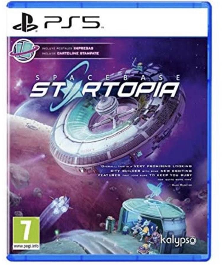 Spacebase Startopia - PS5 físico Amazon
