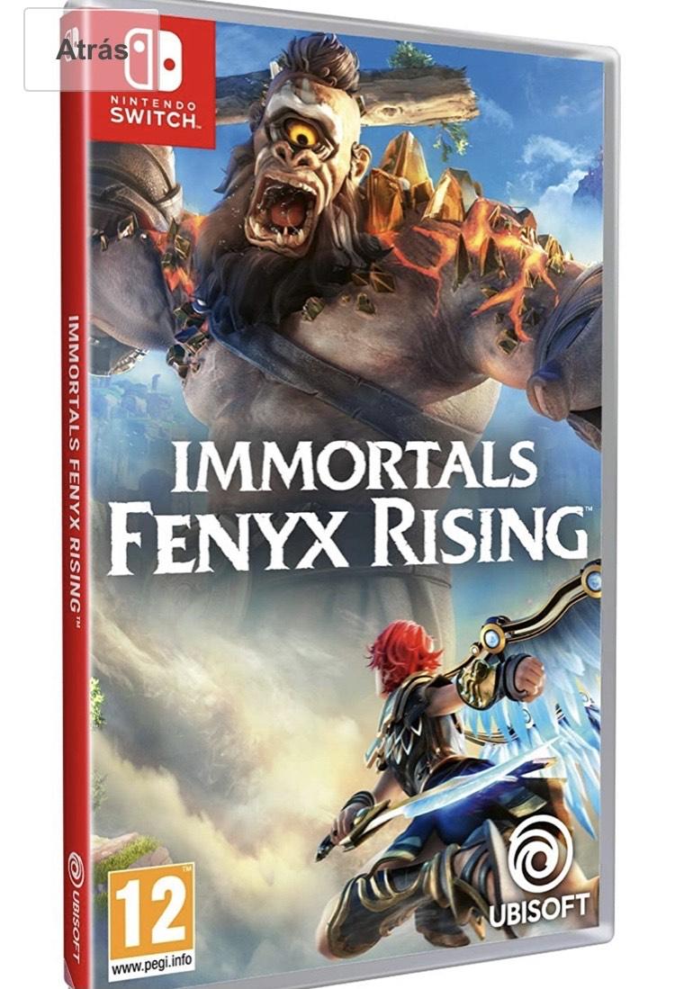 Immortals Fenyx Rising SWITCH Físico Amazon