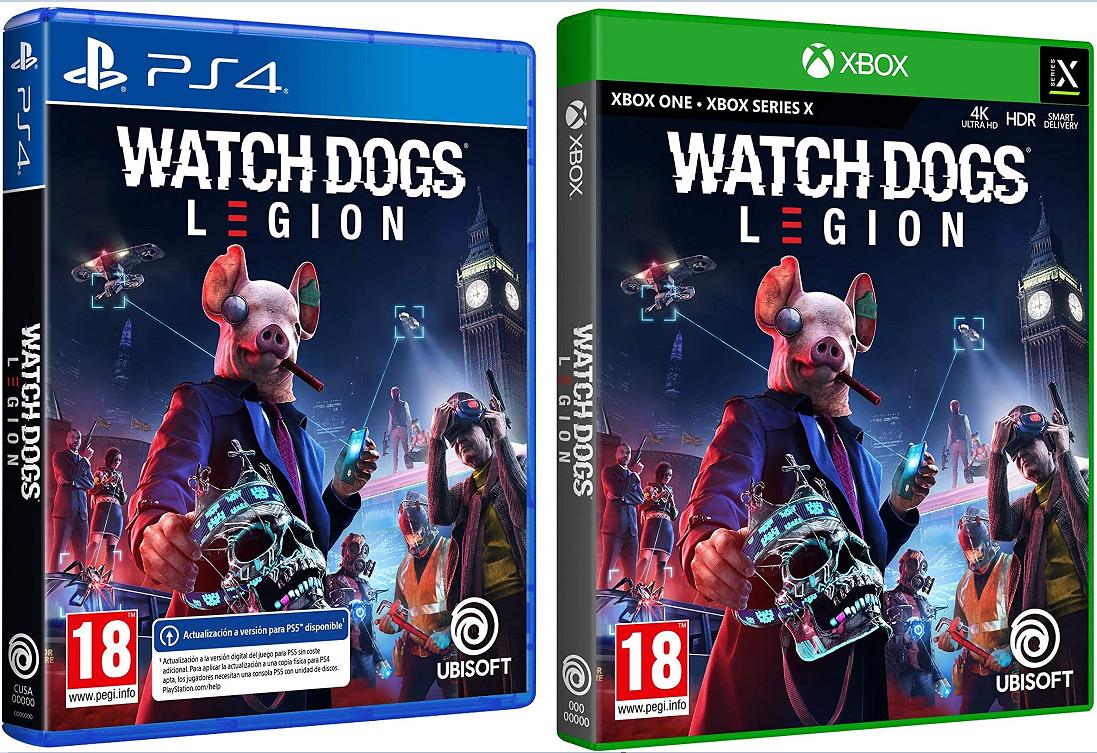 Xbox One y PS4: Watch Dogs Legion por sólo 26,99€