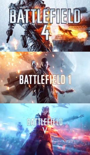 PC (ORIGIN): Descuentos del 75% en la saga Battlefield (BF4, BF1 y BFV) Desde 4,99€