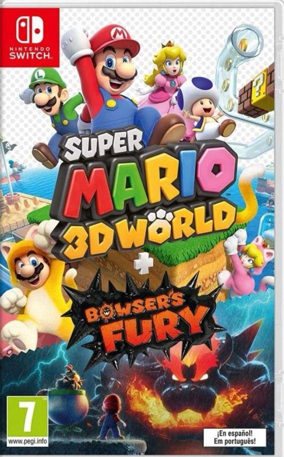 Super Mario 3D World + Bowser's Fury Nintendo Switch [Precio Socio]