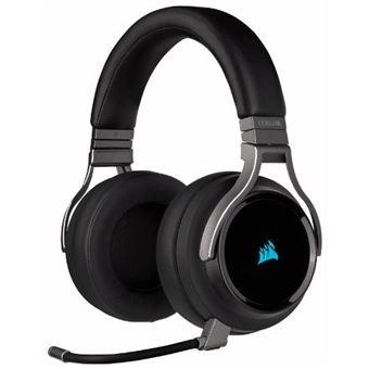 Headset gaming Corsair Virtuoso Carbon - Inalámbricos con posiblidad de cable
