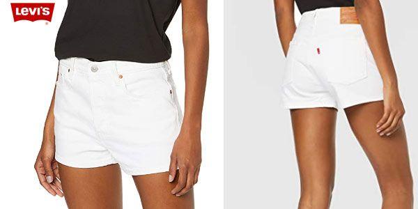 Levi's 501 High Rise Short Pantalones Cortos para Mujer. Tallas 23 a 32